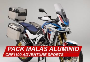 PACK MALAS ALUMÍNIO - CRF1100 ADVENTURE SPORTS